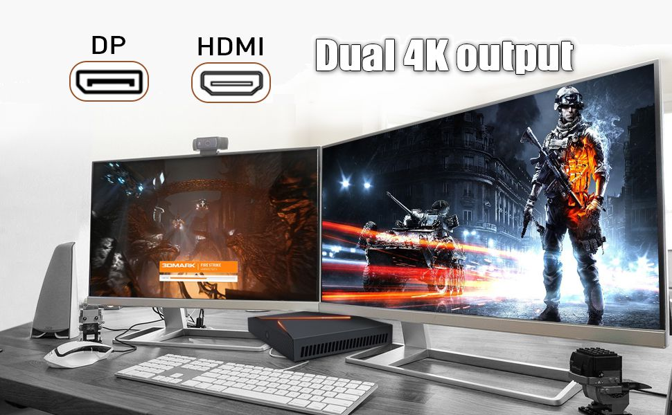 4k dual output