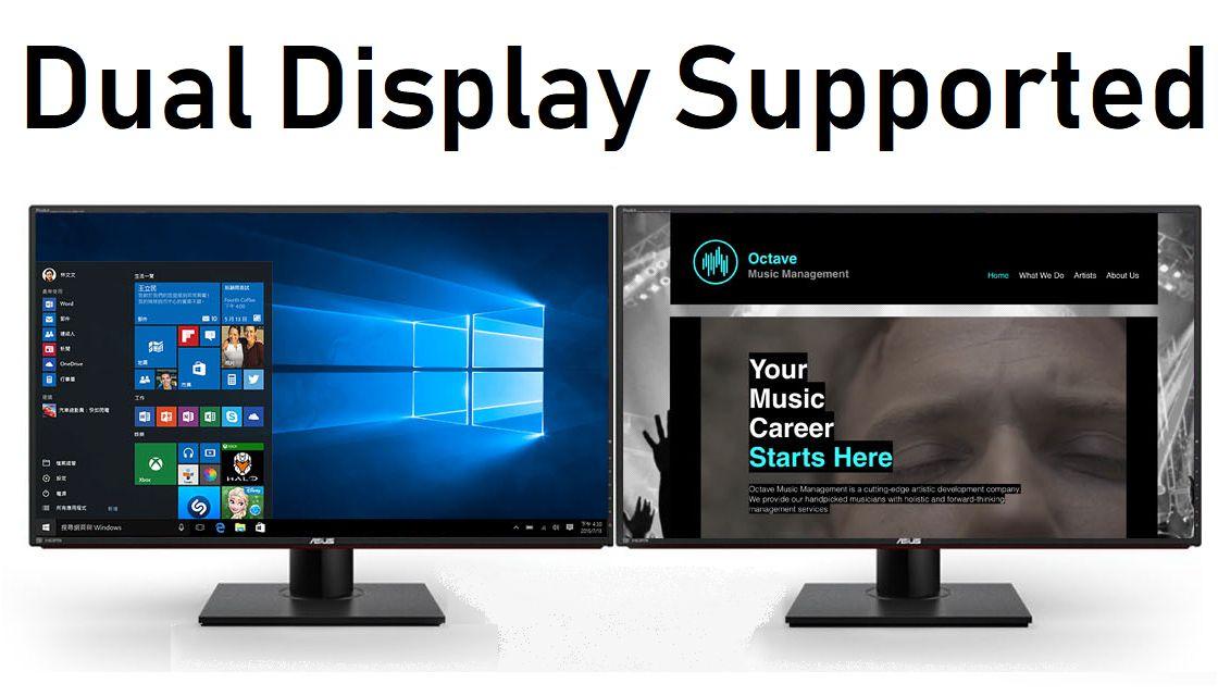 generic dual display