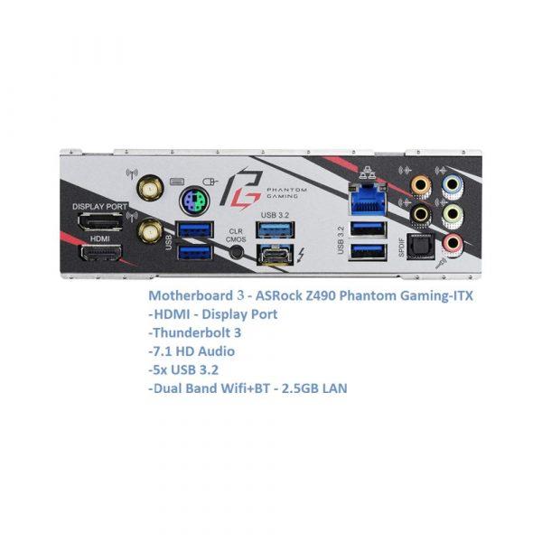 10th Gen Max i9 10 Core Intel RGB Mini ITX Neo G RTX 3080