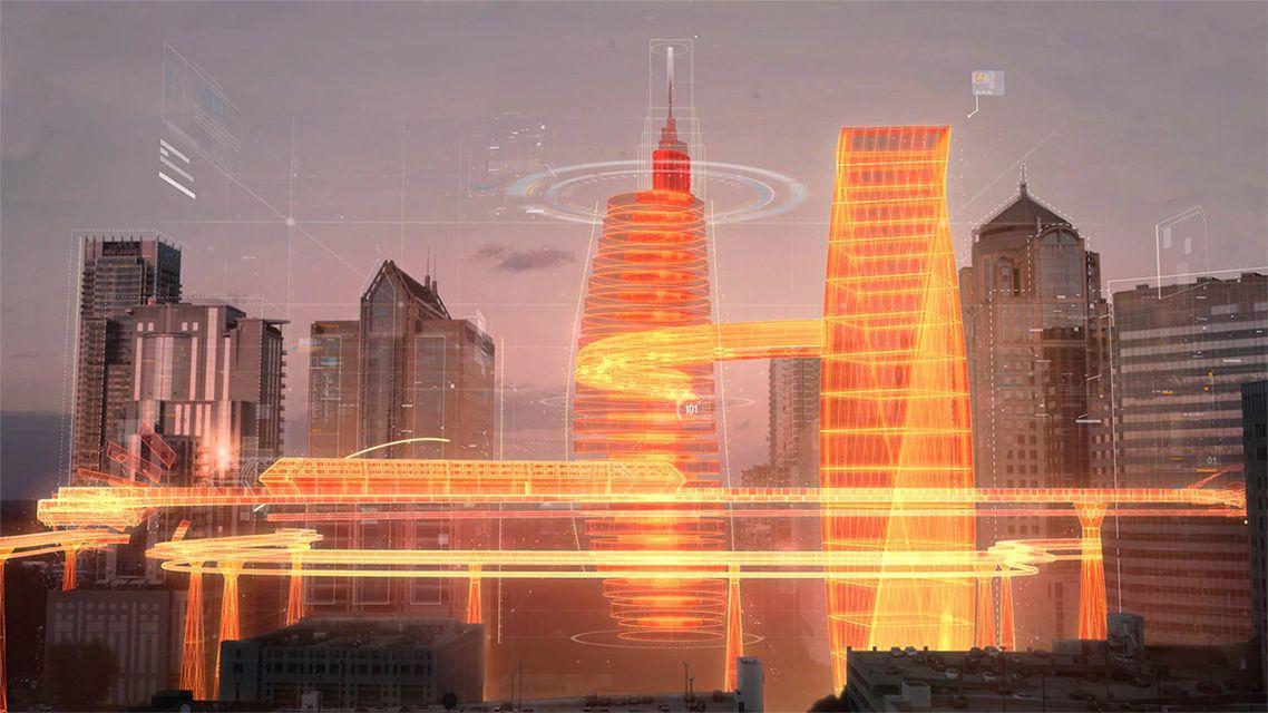 3D Modelling Live City Scene