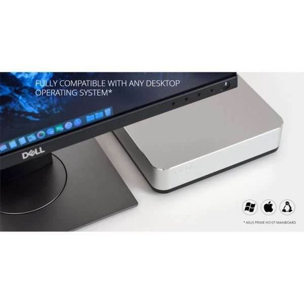 8th/9th Gen Mac Mini Design Quad Core Intel Commercial Mini ITX PC (Dual Display Supported)