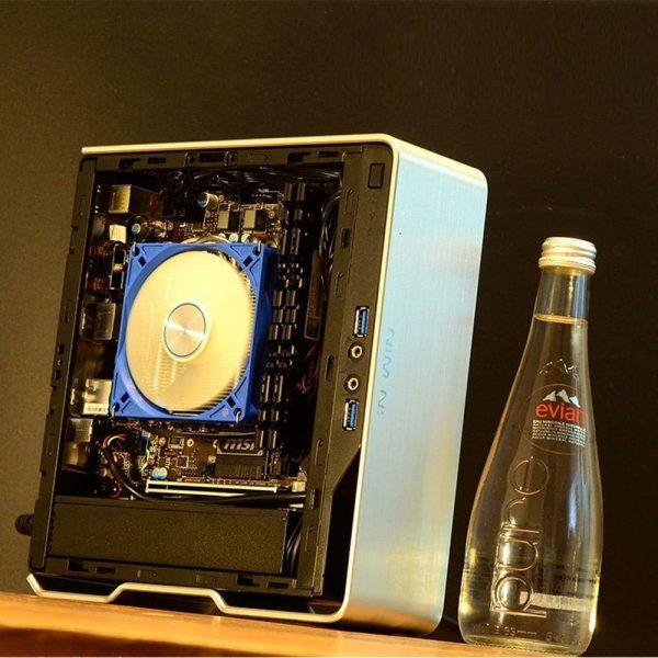 Console Killer AMD Gaming VEGA Graphics Mini ITX PC