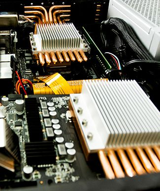 Fanless Gaming PC Video Heatsink