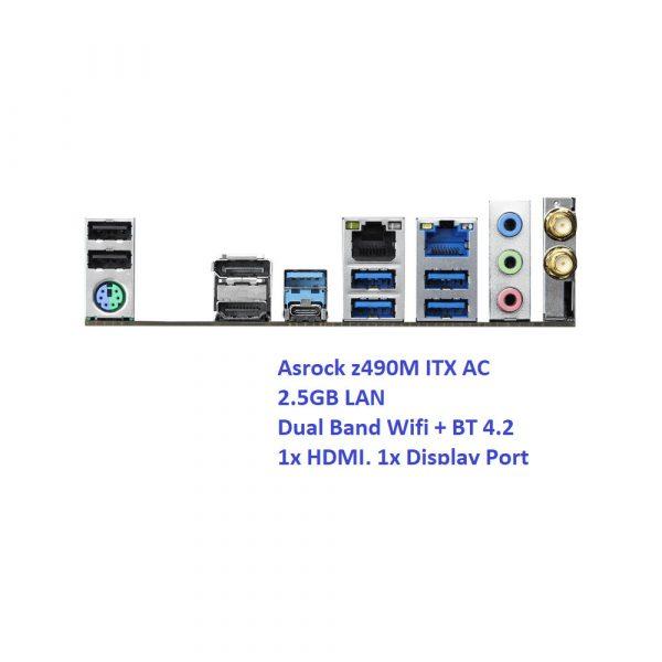 Fanless i5 10th Gen Six Core Intel Mini ITX PC