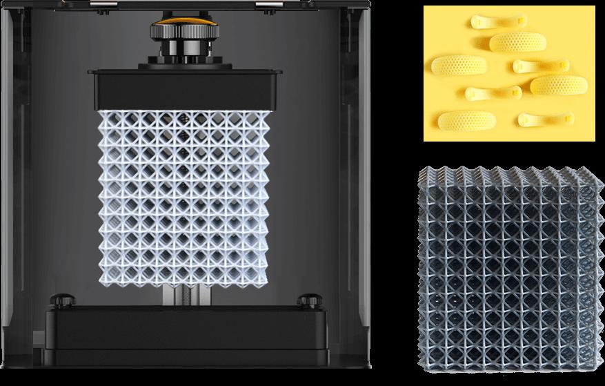 Light 130 LCD 3D Resin Printer