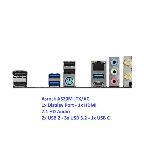 Streacom DA2 Mini ITX PC AMD Ryzen Pro
