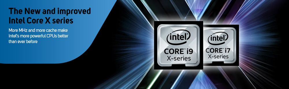 The new and improved Intel Core X series