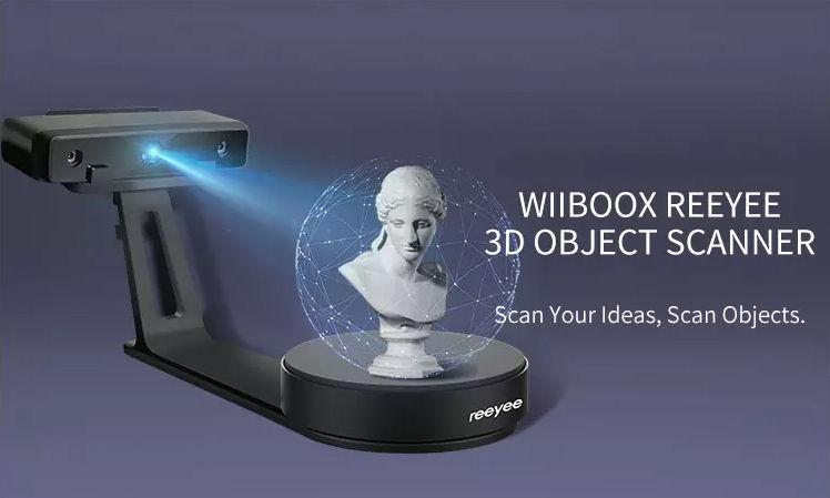 Wiiboox Reeyee 3D Object Scanner