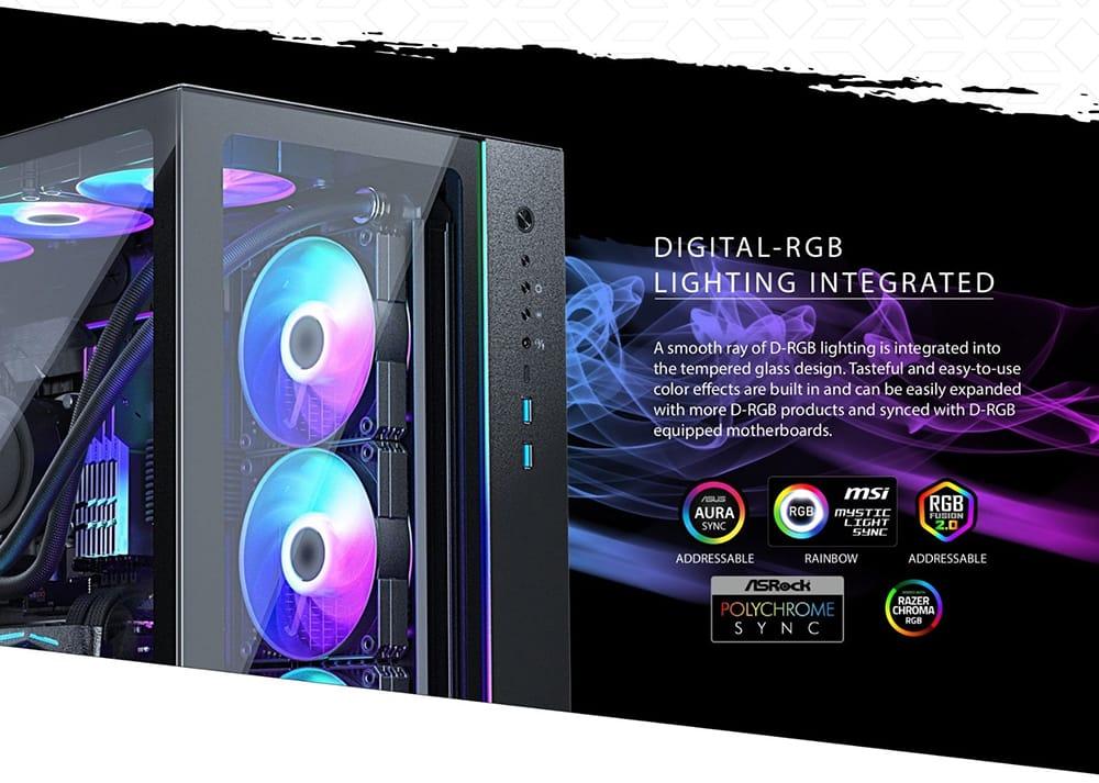 Digital RGB Lighting Integrated