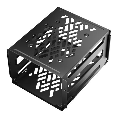 Fractal Design Hard Drive Cage Kit - Type-B, Black, Mounts to available HDD cage/120mm fan slots  - For Define 7/Meshify 2 + other select Fractal cases