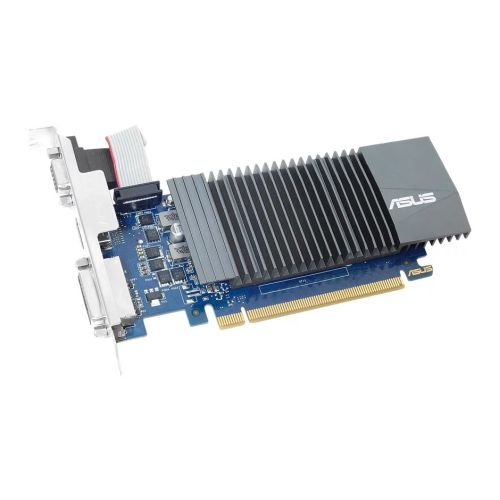 Asus GT710, 1GB DDR5, PCIe2, VGA, DVI, HDMI, Silent, Low Profile (Bracket Included)