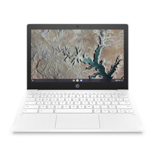 "HP Chromebook 11 Laptop, 11.6"", MediaTek MT8183 CPU, 4GB, 32GB eMMC, Webcam, Wi-Fi, No LAN, Up to 15 Hours Run Time, USB-C, White"