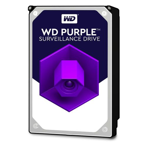 """WD 3.5"""", 8TB, SATA3, Purple Surveillance Hard Drive, 5400RPM, 128MB Cache, OEM"""